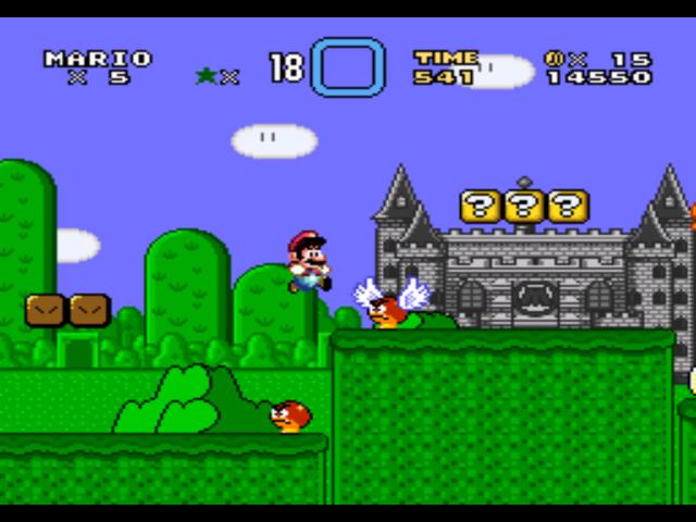 Super Mario World (USA) [Hack by FPI v1 2] (~Super Mario